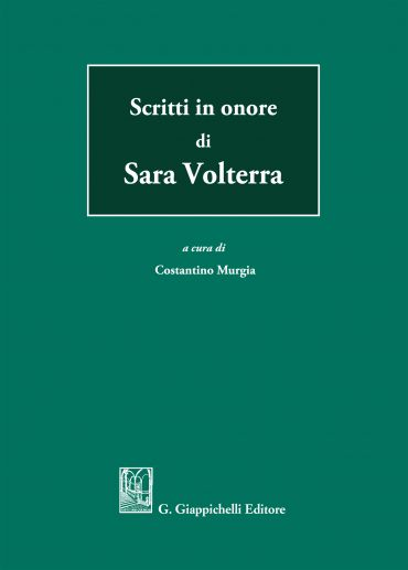 Scritti in onore di Sara Volterra ePub