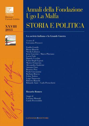 Annali della Fondazione Ugo La Malfa XXVIII  2013