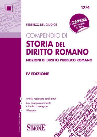 Compendio di Storia del Diritto Romano ePub