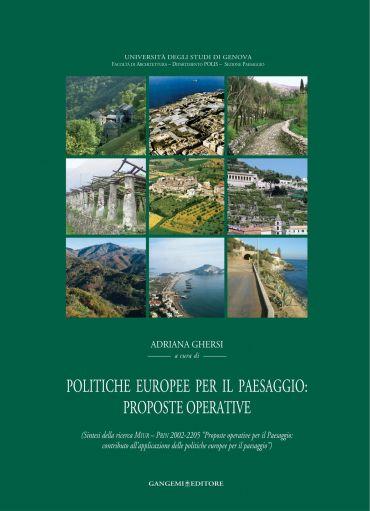 Politiche europee per il paesaggio: proposte operative ePub