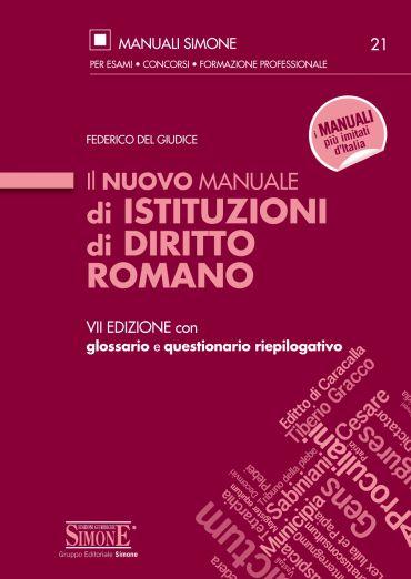Il nuovo Manuale di Istituzioni di Diritto Romano ePub