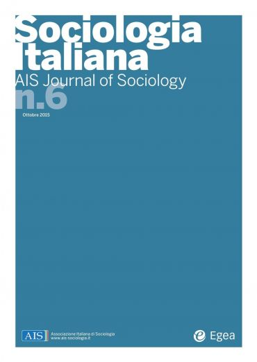 Sociologia Italiana - AIS Journal of Sociology n. 6