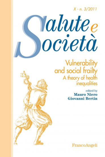 Vulnerability and social frailty. A theory of health inequalitie