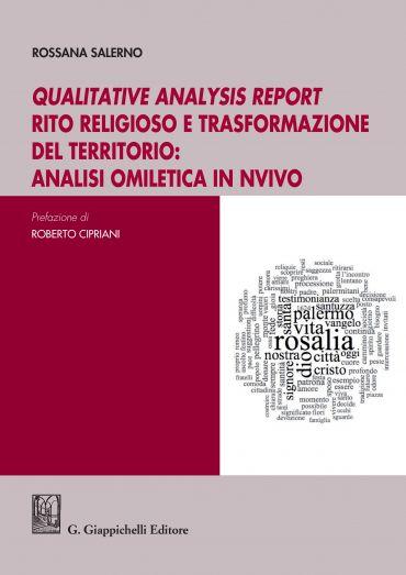 Qualitative analysis report rito religioso e trasformazione del