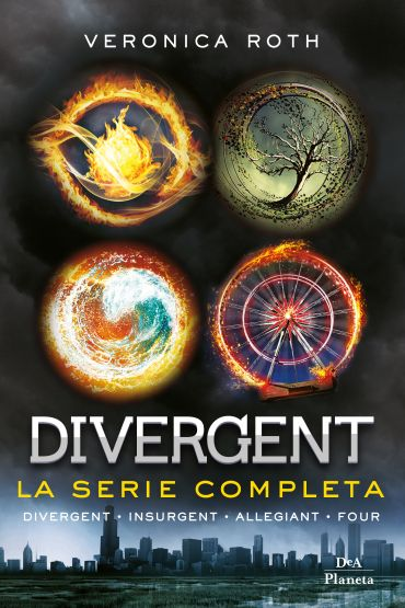 Divergent. La serie completa (Divergent - Insurgent - Allegiant