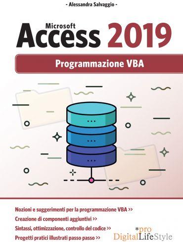Microsoft Access 2019 - Programmazione VBA ePub