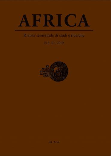 Africa. N.S. I/1,2019