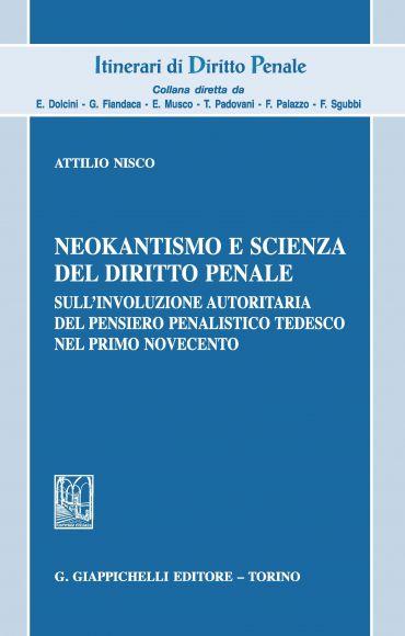 Neokantismo e scienza del diritto penale