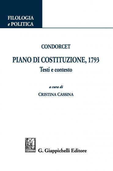 Condorcet. Piano di Costituzione, 1793