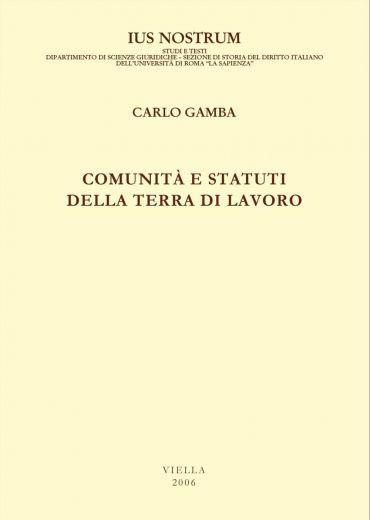 Comunità e statuti della Terra di Lavoro