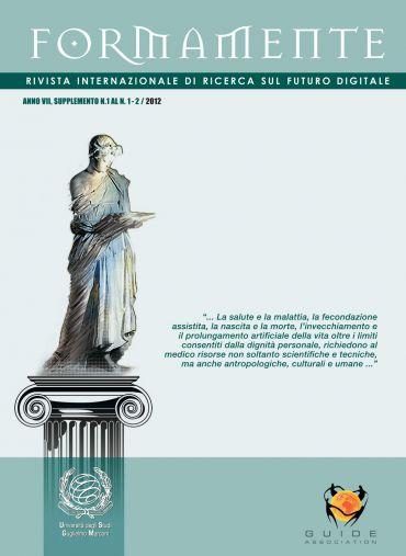 FormaMente. Supplemento n.1 AL n.1-2/2012