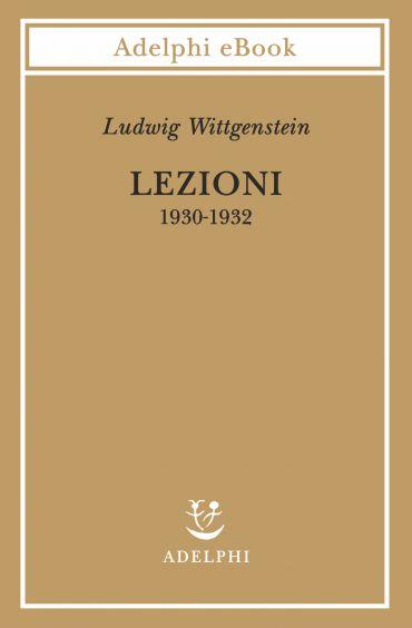 Lezioni 1930-1932 ePub