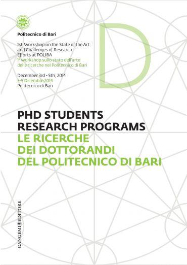 Le ricerche dei dottorandi del Politecnico di Bari - PHD Student