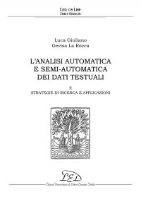 L'analisi automatica e semi-automatica dei dati testuali - II