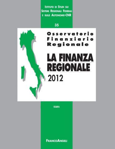 Osservatorio finanziario regionale/35. La finanza regionale 2012