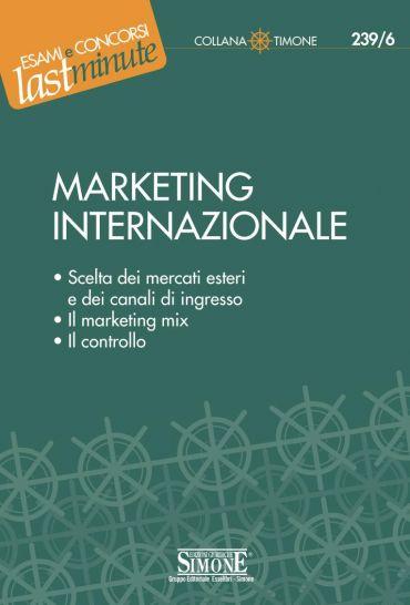 Elementi di Marketing Internazionale