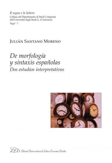 De morfología y sintaxis españolas