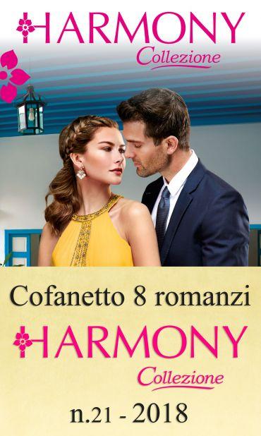 Cofanetto 8 Harmony Collezione n.21/2018 ePub