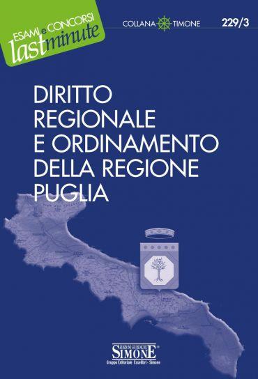 Diritto Regionale e Ordinamento della Regione Puglia
