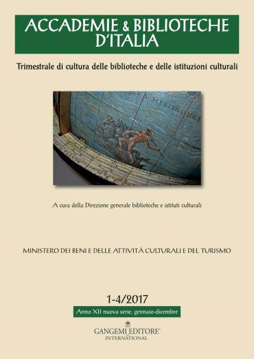 Accademie & Biblioteche 1-4/2017 ePub