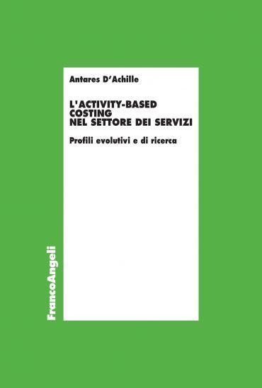 L'Activity-based costing nel settore dei servizi