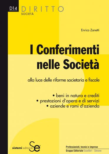 I conferimenti nelle Società