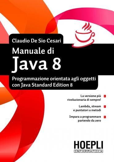 Manuale di Java 8 ePub