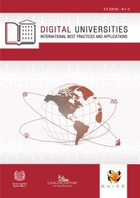 Digital Universities V.5 (2018) n. 1-2