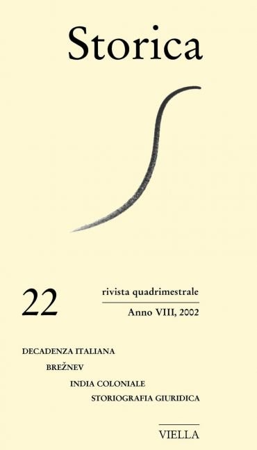 Storica (2002) Vol. 22