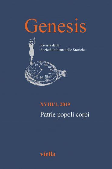 Genesis. Rivista della Società italiana delle storiche (2019) Vo