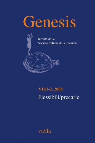 Genesis. Rivista della Società italiana delle storiche (2008) Vo