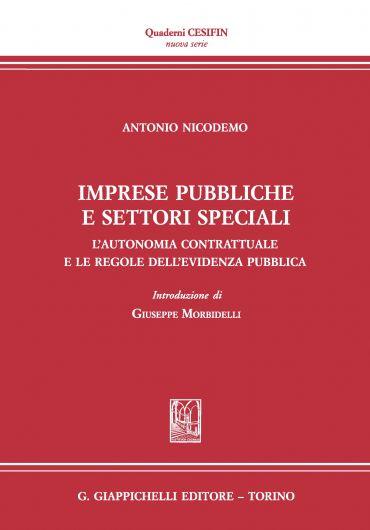 Imprese pubbliche e settori speciali