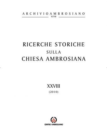 Ricerche storiche XXVIII