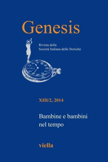 Genesis. Rivista della Società italiana delle storiche (2014) Vo