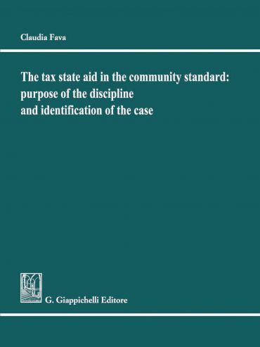 The tax State Aid in the community standard: purpose of the disc