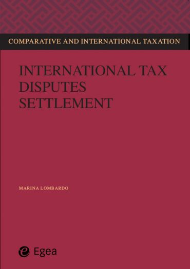 International tax disputes settlement ePub