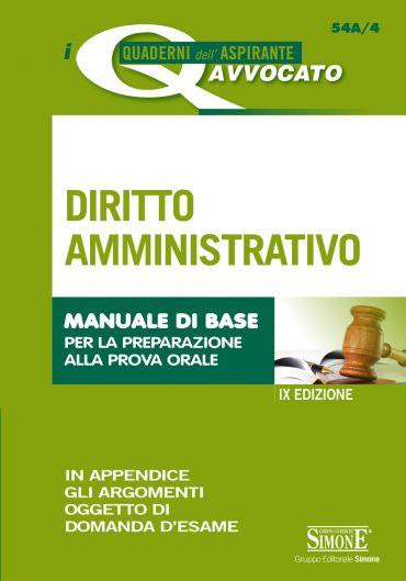 I Quaderni dell'Aspirante Avvocato - Diritto Amministrativo