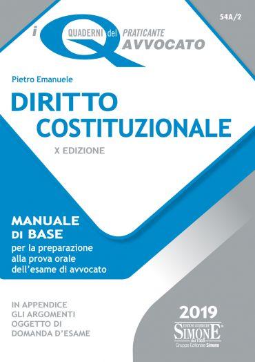 I Quaderni del praticante Avvocato - Diritto Costituzionale