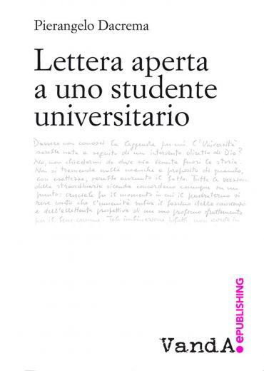 Lettera aperta a uno studente universitario ePub