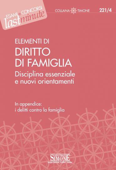 Elementi di Diritto di Famiglia