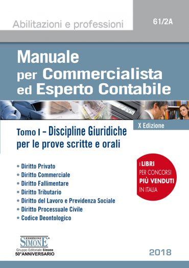 Manuale per Commercialista ed Esperto Contabile - Discipline Giu