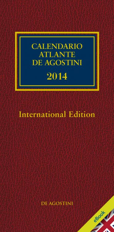 CALENDARIO ATLANTE DE AGOSTINI 2014 - International edition