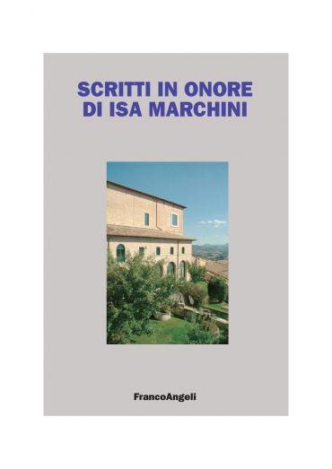Scritti in onore di Isa Marchini