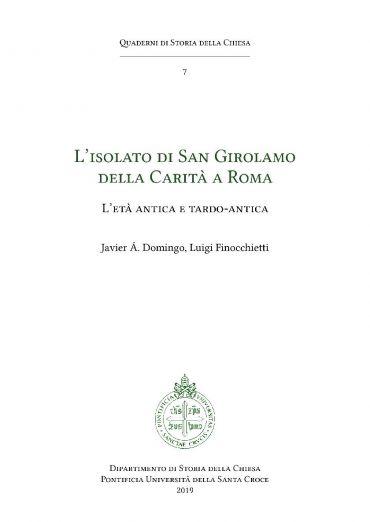 L'isolato di San Girolamo della Carità a Roma ePub