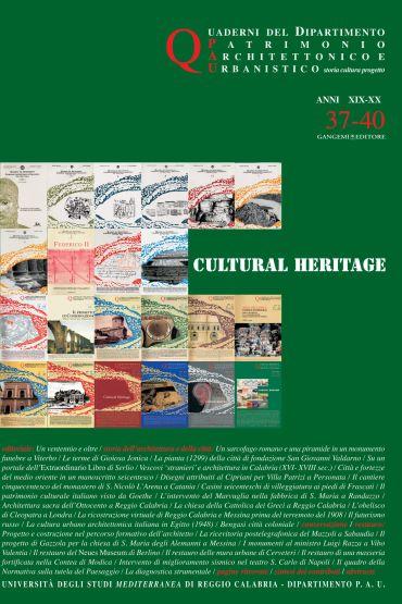 Quaderni PAU n. 37-40/2009-2010