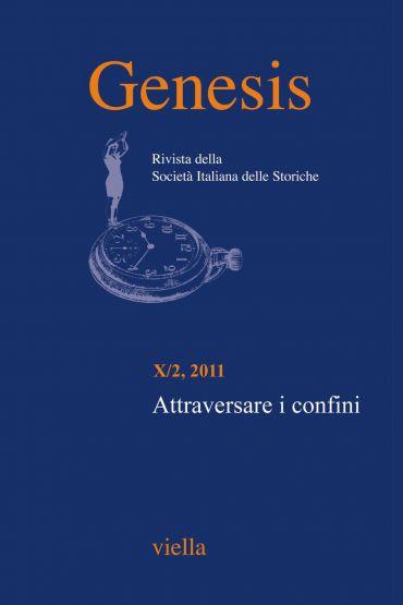 Genesis. Rivista della Società italiana delle storiche (2011) Vo
