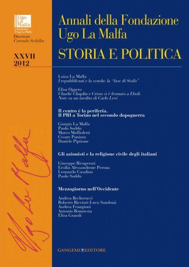 Annali della Fondazione Ugo La Malfa XXVII - 2012 ePub