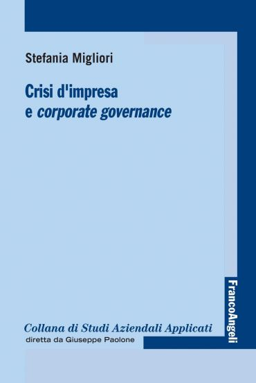 Crisi d'impresa e corporate governance