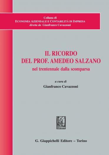 Il ricordo del Prof. Amedeo Salzano nel trentennale dalla scompa