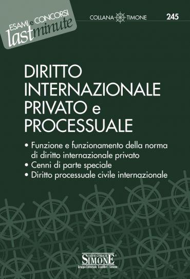 Elementi di Diritto Internazionale Privato e Processuale